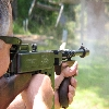 Me firing the JD gun