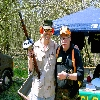 Chris & Bob @ the Jungle Walk of Knob Creek