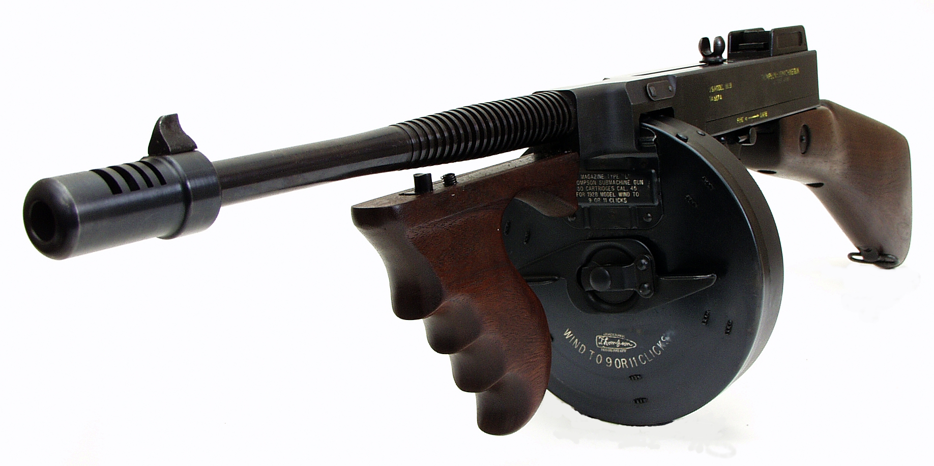 Thompson Machine Gun Drum http://kootation.com/thompson-bb-gun.html